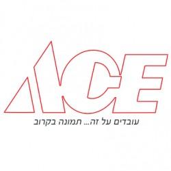 מנורת לד 10 פונפונים, צבע אפור